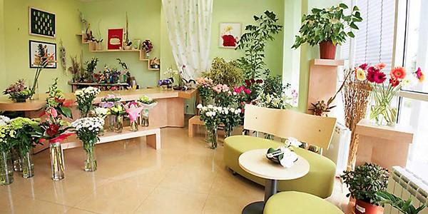 Оформление комнаты цветами